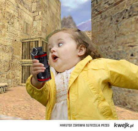 Counter-Strike - Running girl