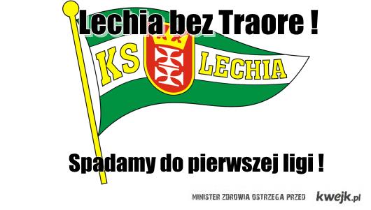 Szok i smutek w Gdańsku. Abdou Razack Traore nie przedłużył kontraktu z Lechią!
