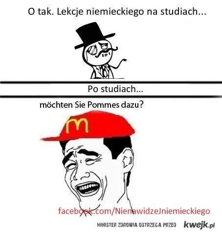 Niemiecki po studiach ;)