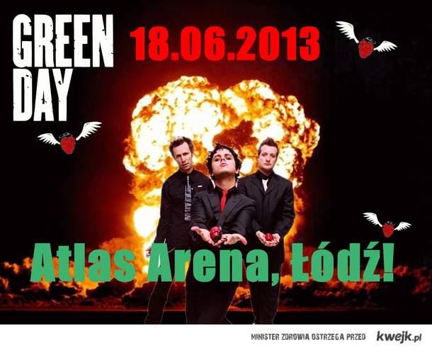 Green Day, koncert w Polsce!