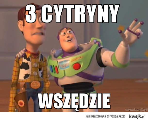 3 cytryny