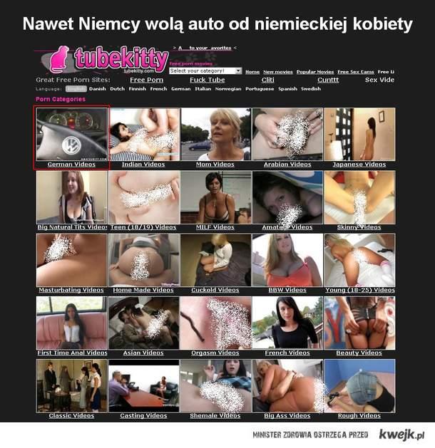 Nawet niemcy wolą auto od niemieckiej kobiety