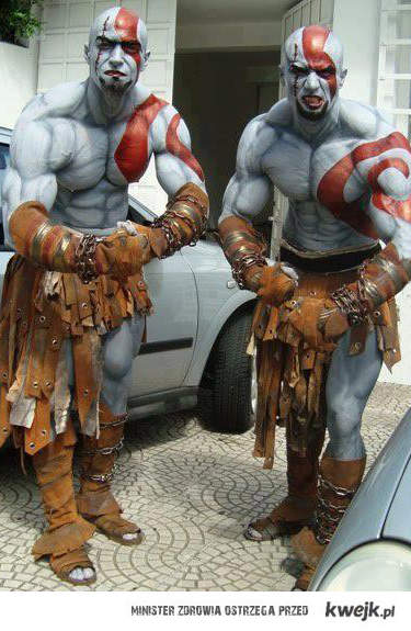 GOW cosplay