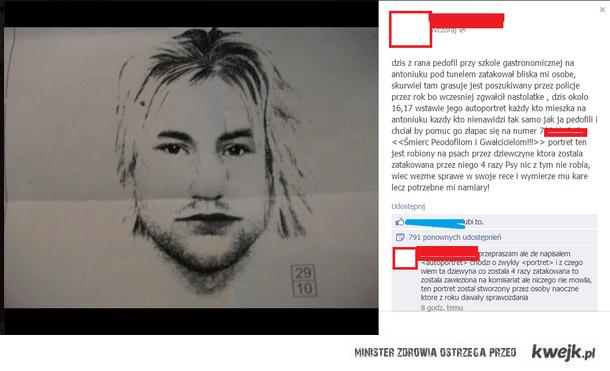 pedofil bialystok