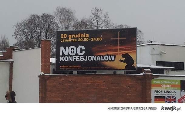Noc Konfesjonałów w Gliwicach