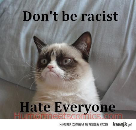 Don't be racist