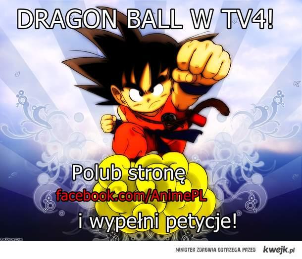Dragon Ball w tv4!