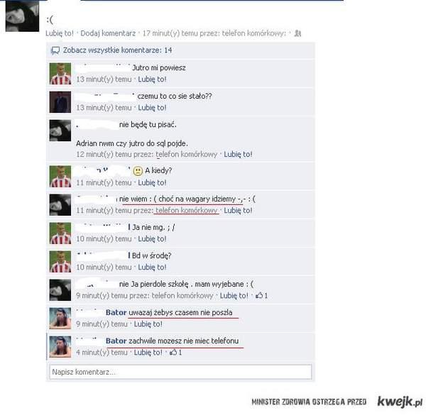 Wstyd mama na fb