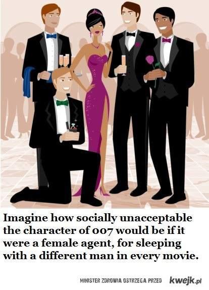 007 jako kobieta