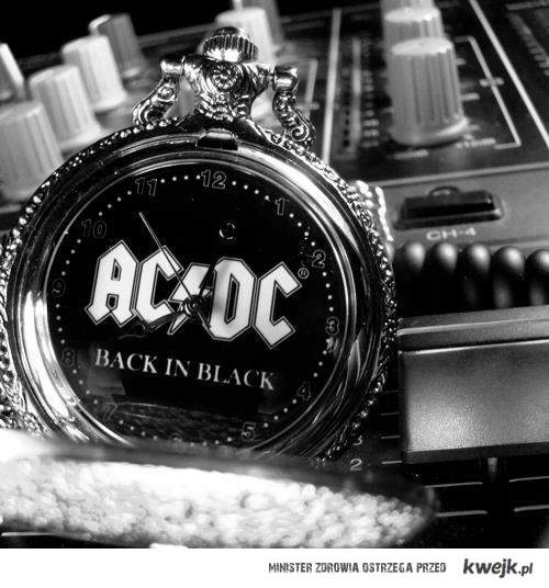 Zegar AC/DC