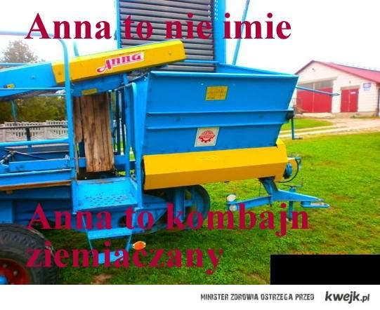 Kombajn Anna