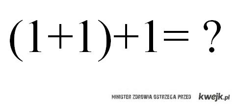 Wyższa matematyka xD