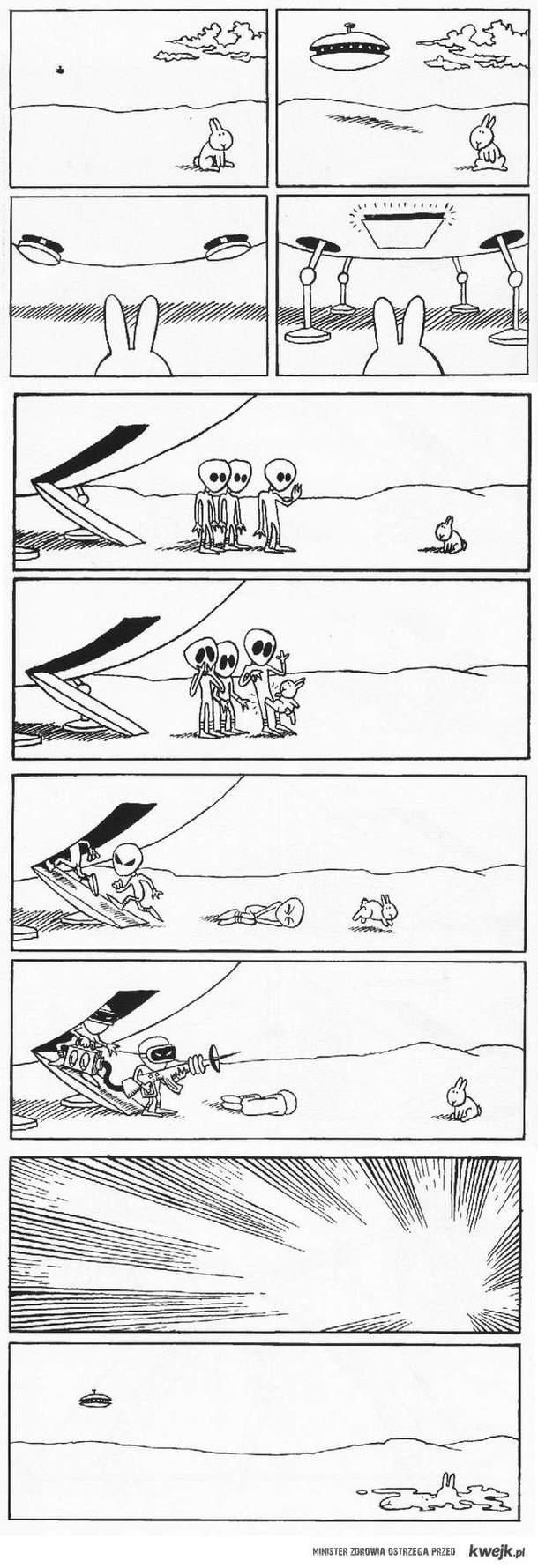 Zajączek i UFO