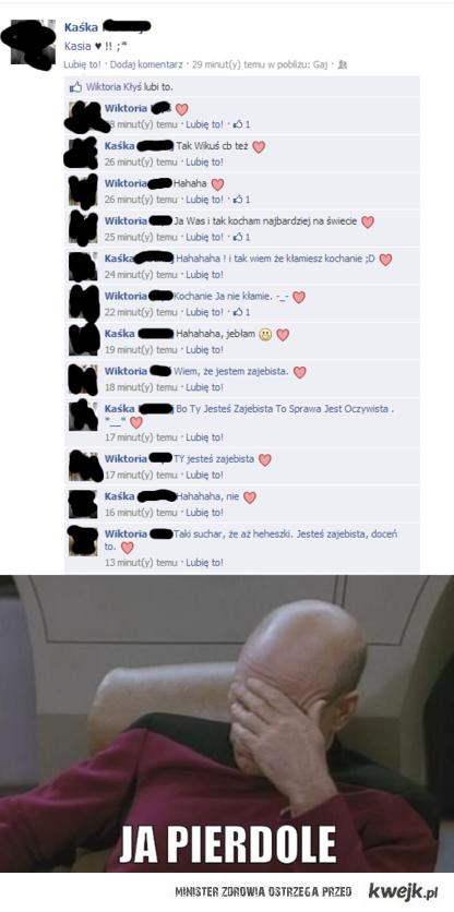 konwersacja na fb
