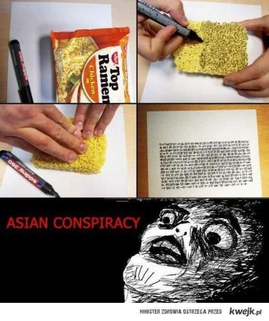 Spisek azjatów