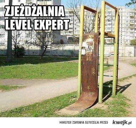 Zjeżdżalnia Lvl Expert