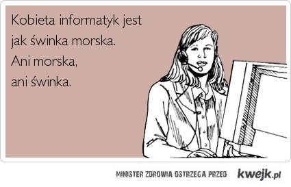 kobieta informatyk