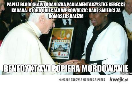 Benedykt XVI a mordowanie