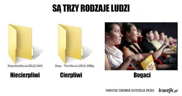 3 rodzaje ludzi