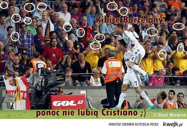 Kibice Barcelony ...