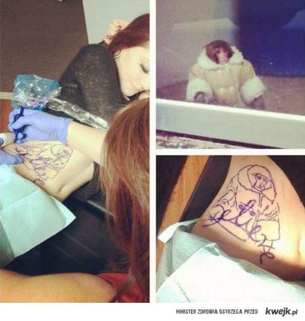 tatuaz z lucynka