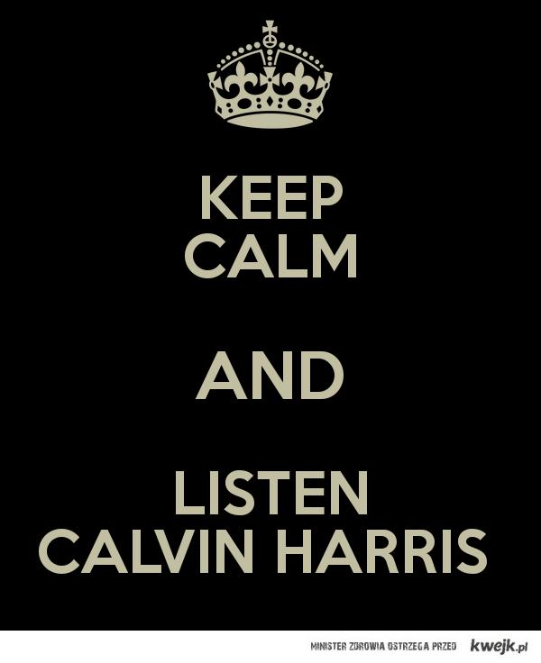 Listen Calvin Harris