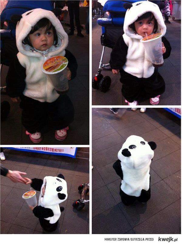 słodka pandziucha