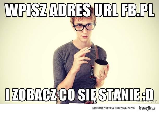 Wpisz  adres URL fb.pl