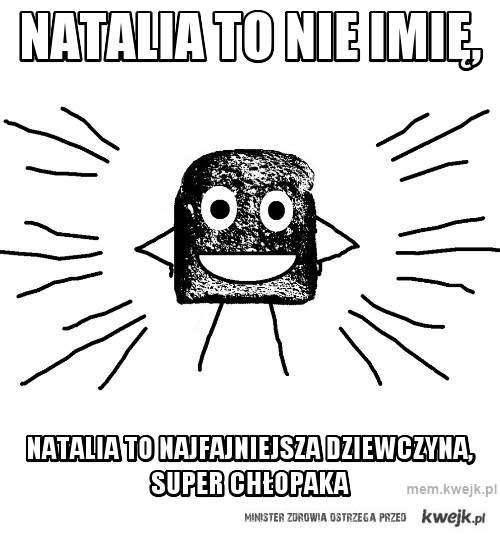 Natalia to nie imię,