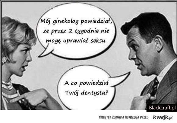 Co powiedział ginekolog ?