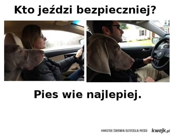 Kto jezdzi bezpieczniej