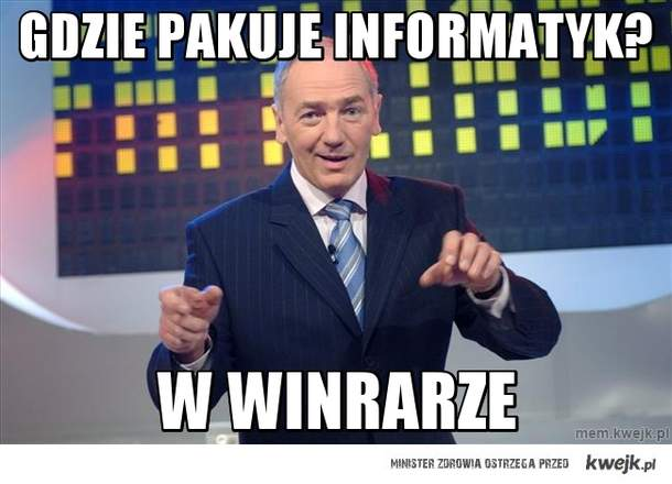 Gdzie pakuje informatyk?