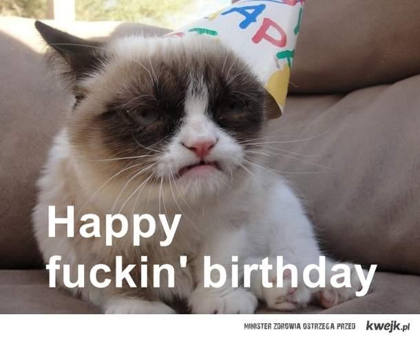 Birthday Grumpy