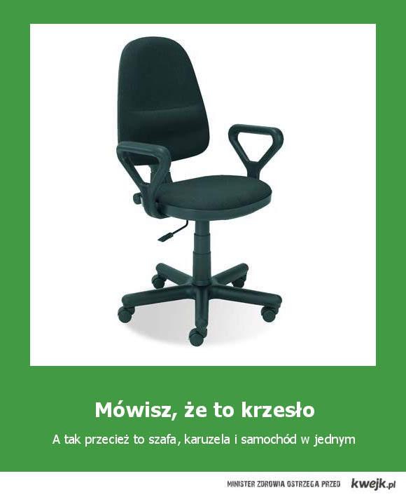 krzesło wielofunkcyjne
