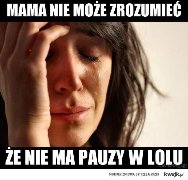 Mama nie może zrozumieć