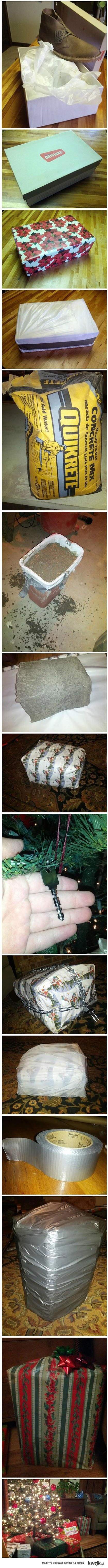 Jak porzadnie zapakować prezent