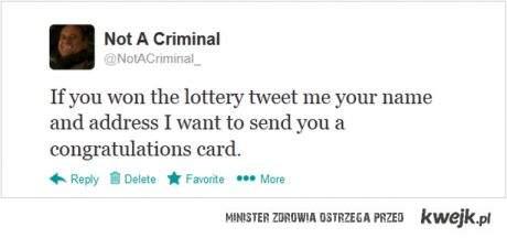nie przestępca