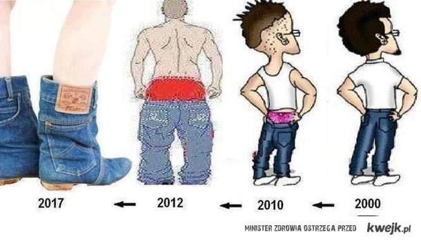 Moda sie zmienia