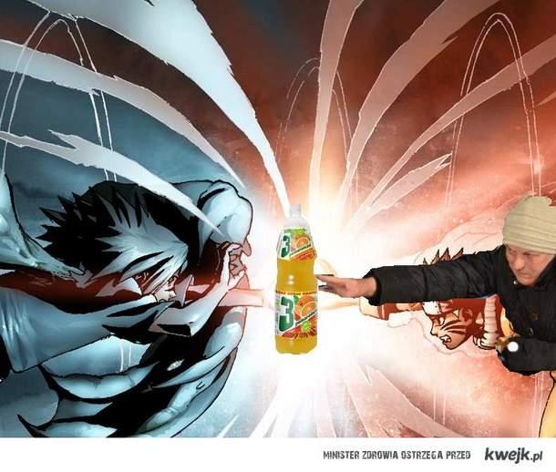 Chytra baba VS Sasuke
