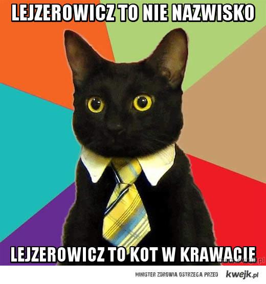 Lejzerowicz to nie nazwisko