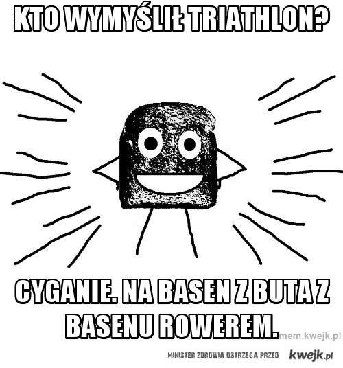 kto wymyślił triathlon?