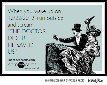 The Doctor Will Save Us