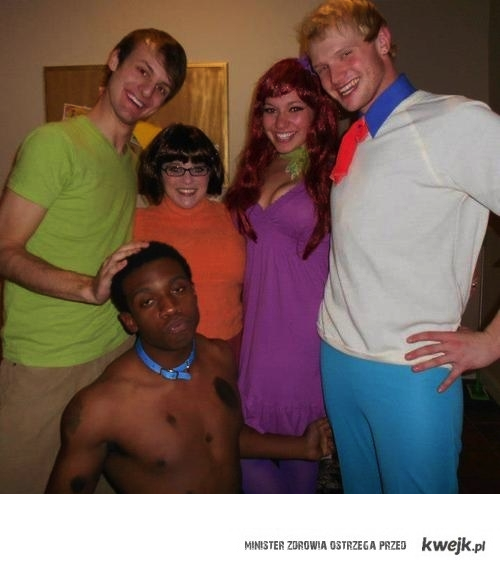Scooby doo to czarnuch