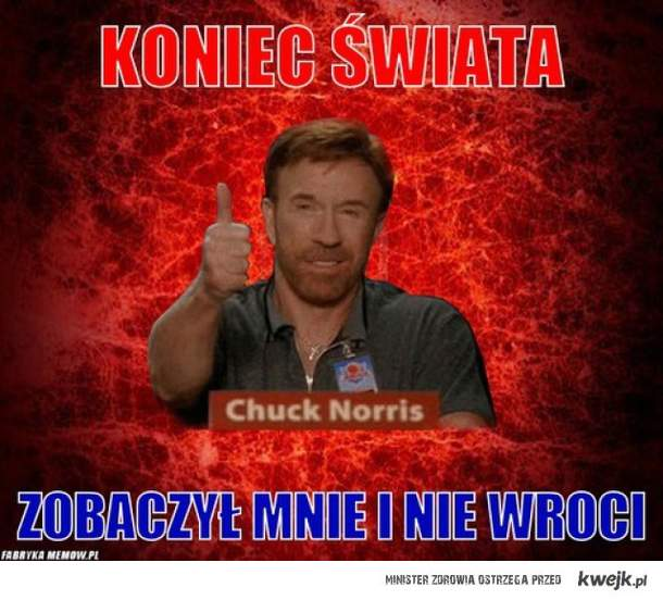 Chuck Norris i koniec świata