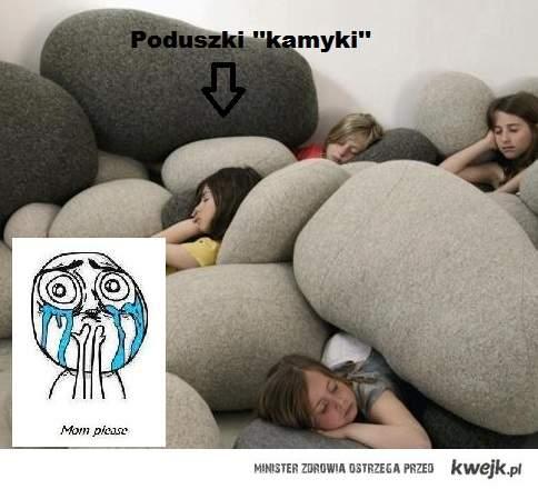 Poduszki... :D
