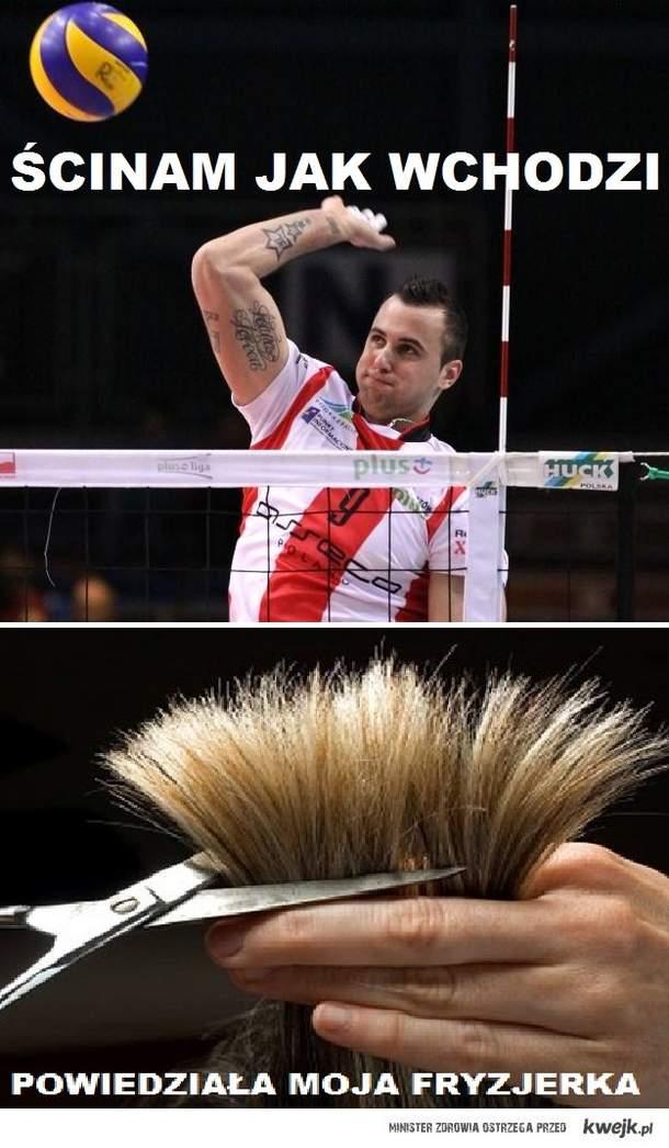 Ahh ... ci fryzjerzy .