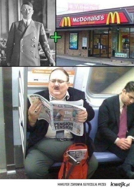 Hitler + Mcdonalds