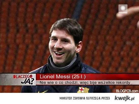 Dlaczego Messi bije rekordy?