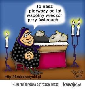 Przy świecach