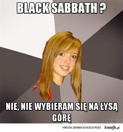 Black sabbath ?